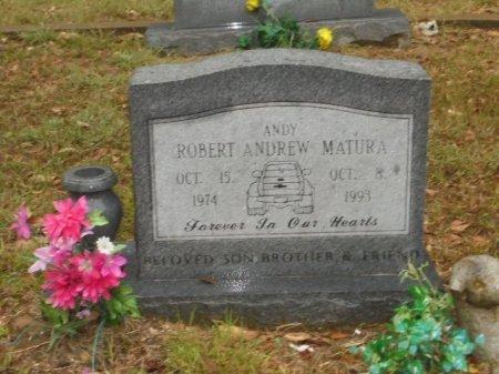 MATURA, ROBERT ANDREW - Kaufman County, Texas | ROBERT ANDREW MATURA - Texas Gravestone Photos