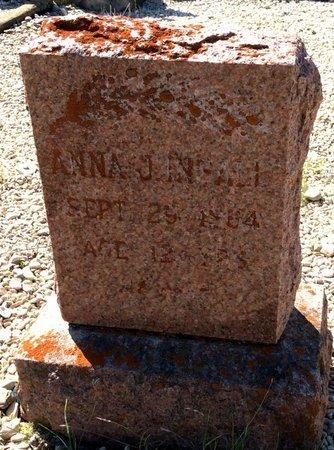INSALL, ANNA J - Kendall County, Texas | ANNA J INSALL - Texas Gravestone Photos