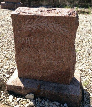 INSALL, MARY ANN - Kendall County, Texas | MARY ANN INSALL - Texas Gravestone Photos