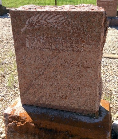 INSALL, RICHARD - Kendall County, Texas | RICHARD INSALL - Texas Gravestone Photos