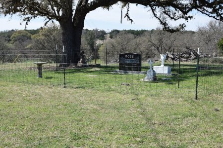 *ROSE FAMILY CEMETERY,  - Kendall County, Texas    *ROSE FAMILY CEMETERY - Texas Gravestone Photos