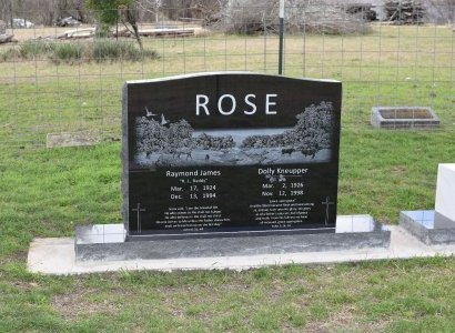 "ROSE, GEORGIA ELLEN ""DOLLY"" - Kendall County, Texas | GEORGIA ELLEN ""DOLLY"" ROSE - Texas Gravestone Photos"