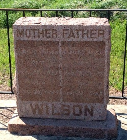 WYATT WILSON, LAVINA - Kendall County, Texas | LAVINA WYATT WILSON - Texas Gravestone Photos