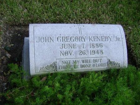 KENNEDY, JR., JOHN GREGORY - Kenedy County, Texas | JOHN GREGORY KENNEDY, JR. - Texas Gravestone Photos