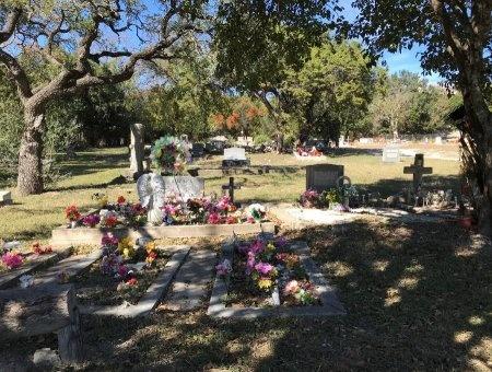 *CEMETERY VIEW,  - Kerr County, Texas |  *CEMETERY VIEW - Texas Gravestone Photos