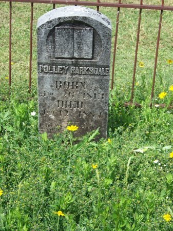 BARKSDALE, POLLEY - Kimble County, Texas | POLLEY BARKSDALE - Texas Gravestone Photos