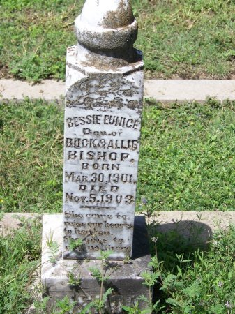 BISHOP, BESSIE ENUNICE - Kimble County, Texas | BESSIE ENUNICE BISHOP - Texas Gravestone Photos