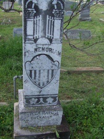 HARMAN CHENAULT, LILLA - Kimble County, Texas | LILLA HARMAN CHENAULT - Texas Gravestone Photos