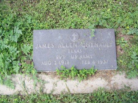 CHENAULT (VETERAN), JAMES ALLEN - Kimble County, Texas | JAMES ALLEN CHENAULT (VETERAN) - Texas Gravestone Photos