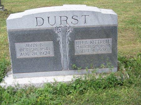 DURST, JOHN S. - Kimble County, Texas | JOHN S. DURST - Texas Gravestone Photos