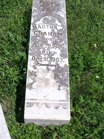 GRAHAM, MARTHA J. - Kimble County, Texas | MARTHA J. GRAHAM - Texas Gravestone Photos