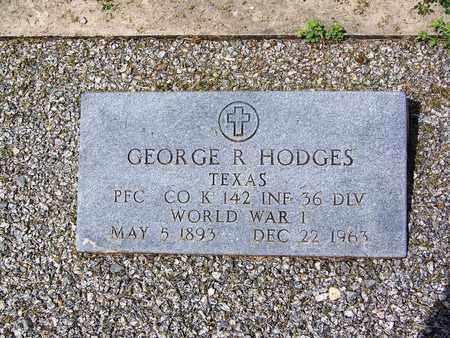 HODGES (VETERAN WWI), GEORGE R - Kimble County, Texas | GEORGE R HODGES (VETERAN WWI) - Texas Gravestone Photos