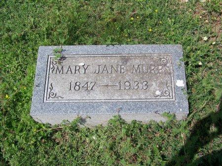 MURR, MARY JANE - Kimble County, Texas | MARY JANE MURR - Texas Gravestone Photos