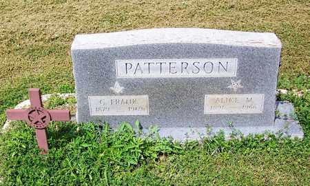 PATTERSON, ALICE M - Kimble County, Texas | ALICE M PATTERSON - Texas Gravestone Photos