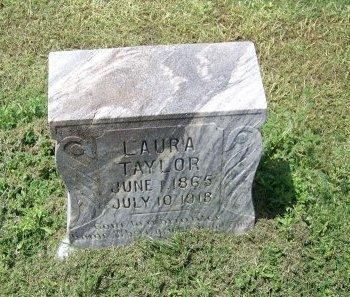 TAYLOR, LAURA - Kimble County, Texas   LAURA TAYLOR - Texas Gravestone Photos