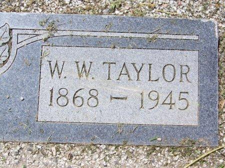 TAYLOR, WILLIAM WALTER - Kimble County, Texas | WILLIAM WALTER TAYLOR - Texas Gravestone Photos