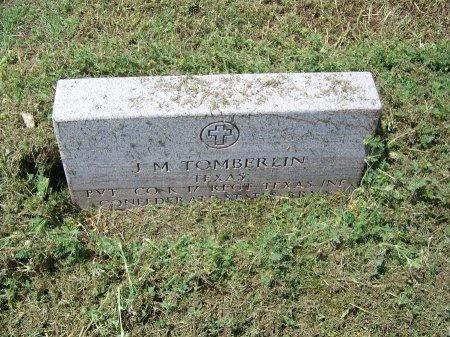 TOMBERLIN (VETERAN CSA), J. M. - Kimble County, Texas   J. M. TOMBERLIN (VETERAN CSA) - Texas Gravestone Photos