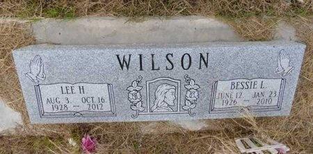 WILSON, BESSIE L. - Kinney County, Texas | BESSIE L. WILSON - Texas Gravestone Photos