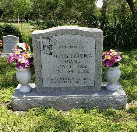 ADAME, HENRY FIGUEROA - Kleberg County, Texas   HENRY FIGUEROA ADAME - Texas Gravestone Photos