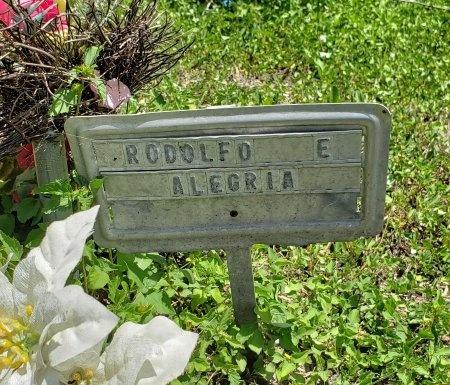 ALEGRIA, RODOLFO E. - Kleberg County, Texas | RODOLFO E. ALEGRIA - Texas Gravestone Photos