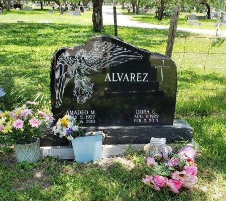 ALVAREZ, DORA G. - Kleberg County, Texas | DORA G. ALVAREZ - Texas Gravestone Photos