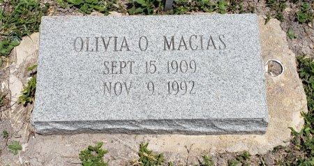 MACIAS, OLIVIA O. - Kleberg County, Texas | OLIVIA O. MACIAS - Texas Gravestone Photos