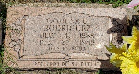 RODRIGUEZ, CAROLINA G. - Kleberg County, Texas | CAROLINA G. RODRIGUEZ - Texas Gravestone Photos