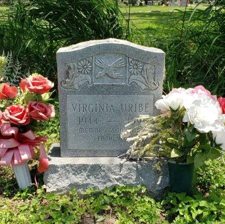 URIBE, VIRGINIA - Kleberg County, Texas | VIRGINIA URIBE - Texas Gravestone Photos