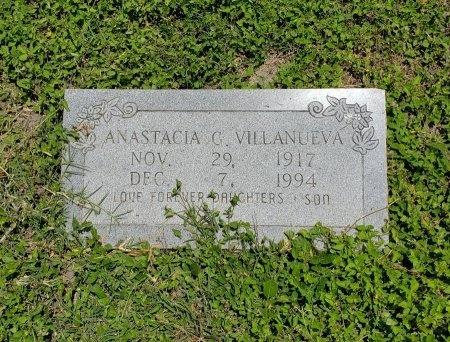 VILLANUEVA, ANASTACIA G. - Kleberg County, Texas | ANASTACIA G. VILLANUEVA - Texas Gravestone Photos