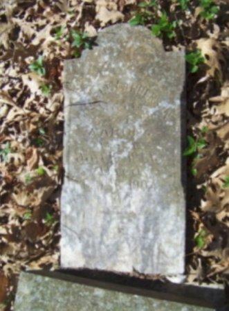 AARON, CHARLEY ANDERSON - Lamar County, Texas | CHARLEY ANDERSON AARON - Texas Gravestone Photos