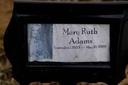 ADAMS, MARY RUTH - Lamar County, Texas | MARY RUTH ADAMS - Texas Gravestone Photos