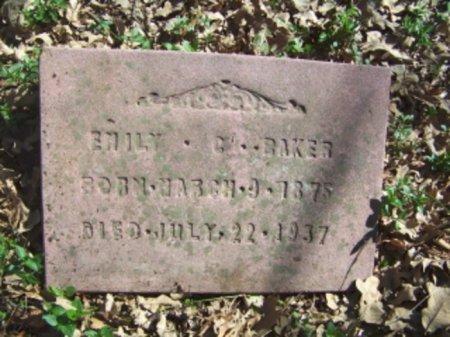 BAKER, EMILY C - Lamar County, Texas   EMILY C BAKER - Texas Gravestone Photos
