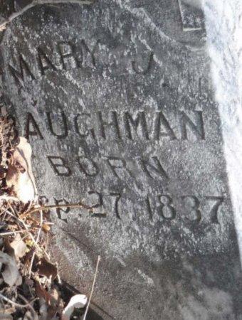BAUGHMAN, MARY J - Lamar County, Texas | MARY J BAUGHMAN - Texas Gravestone Photos
