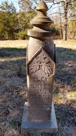 BLACKMON, ALEX - Lamar County, Texas   ALEX BLACKMON - Texas Gravestone Photos