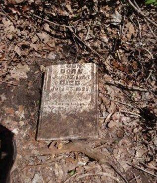 BOON, UNKNOWN - Lamar County, Texas   UNKNOWN BOON - Texas Gravestone Photos