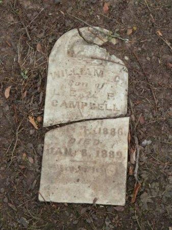 CAMPBELL, WILLIAM C. - Lamar County, Texas | WILLIAM C. CAMPBELL - Texas Gravestone Photos