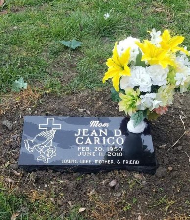 YOUNG CARICO, JEAN D - Lamar County, Texas | JEAN D YOUNG CARICO - Texas Gravestone Photos