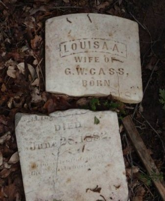 CASS, LOUISA A. - Lamar County, Texas | LOUISA A. CASS - Texas Gravestone Photos