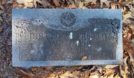 DANGERFIELD, DOLL - Lamar County, Texas | DOLL DANGERFIELD - Texas Gravestone Photos