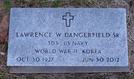 DANGERFIELD SR (VETERAN 2 WARS, LAWRENCE W - Lamar County, Texas | LAWRENCE W DANGERFIELD SR (VETERAN 2 WARS - Texas Gravestone Photos
