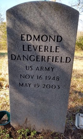 DANGERFIELD (VETERAN), EDMOND LEVERLE - Lamar County, Texas   EDMOND LEVERLE DANGERFIELD (VETERAN) - Texas Gravestone Photos