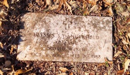 DANGERFIELD (VETERAN WWII), ULYSSES S - Lamar County, Texas   ULYSSES S DANGERFIELD (VETERAN WWII) - Texas Gravestone Photos
