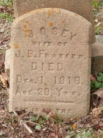 FRAZIER, JOSEY - Lamar County, Texas | JOSEY FRAZIER - Texas Gravestone Photos