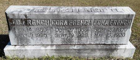 FRENCH, CORA - Lamar County, Texas | CORA FRENCH - Texas Gravestone Photos