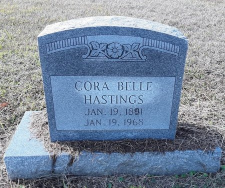 FRENCH HASTINGS, CORA BELLE - Lamar County, Texas | CORA BELLE FRENCH HASTINGS - Texas Gravestone Photos