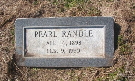 REYNOLDS RANDLE, PEARL - Lamar County, Texas | PEARL REYNOLDS RANDLE - Texas Gravestone Photos