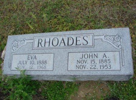 RHOADES, EVA - Lamar County, Texas   EVA RHOADES - Texas Gravestone Photos