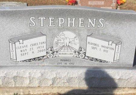 STEPHENS, CLEAVE SHELTON - Lamar County, Texas | CLEAVE SHELTON STEPHENS - Texas Gravestone Photos