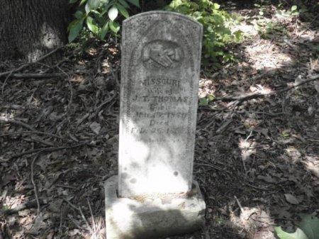 THOMAS, MISSOURI - Lamar County, Texas | MISSOURI THOMAS - Texas Gravestone Photos