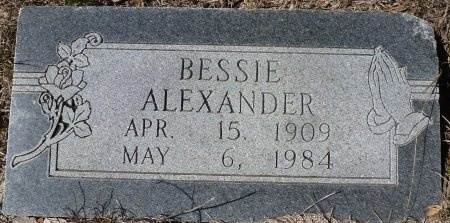 CONNELL ALEXANDER, BESSIE - Lampasas County, Texas | BESSIE CONNELL ALEXANDER - Texas Gravestone Photos